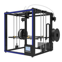 Discount port mix - HOT Tronxy X5ST-2E Double Feeding Port One Extrusion Head 3D Printer Print in any (One Two Mixed )color