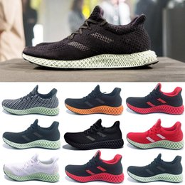 Originals Futurecraft Alphaedge 4D LTD CORE BLACK Green Fashion Sneakers  Five Ash Green Running Shoes Man Woman Authentic Sneakers B75942 5f6e5f6a9
