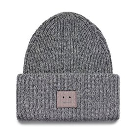China Smiling face Beanie Skull Caps knitted Cashmere Eye Warm Couple Lovers Acne Hats Tide Street Hip-hop Wool Cap Adult Children suppliers
