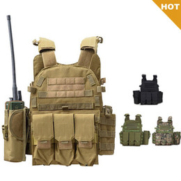 combat molle vest Australia - Tactical Vest Molle Vest Accessories Body Armor Army Combat Gear CS War Game Hunting Clothing Magazine Pouch