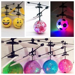 $enCountryForm.capitalKeyWord Australia - Luminous Flying Ball Flight Balls LED Light Electronic Infrared Induction Aircraft Remote Control Toys LED Flying Toys CCA10971 60pcs
