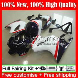 Vfr 98 Australia - Body For HONDA Interceptor Dark blue white VFR800R VFR800RR 98 99 00 01 68MT VFR800 VFR 800RR 800 RR 1998 1999 2000 2001 Fairing Bodywork