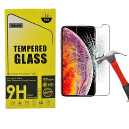 $enCountryForm.capitalKeyWord Australia - For iPhone XS XR XS MAX 8 Tempered Glass Screen Protector For 7S iPhone X Film 2.5D 9H Paper Package