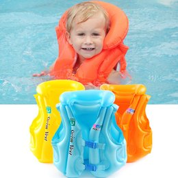 5c71f4c25968d Summer Children Inflatable Swimsuit Baby Safety Swimming Buoyancy Vest  Beach Tourism Swimming Floating Aid Life Jacket