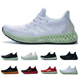 8f7188e4f Futurecraft Alphaedge 4D Running Shoes For Men Women Ash Green Triple Black  White Red Designer Trainers Sport Sneaker Free Shipping