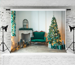 $enCountryForm.capitalKeyWord Australia - Dream 7x5ft Christmas Living Room Decor Photography Backdrop Fireplace Green Sofa Gifts Prop Background for Winter Xmas Holiday Shoot Studio