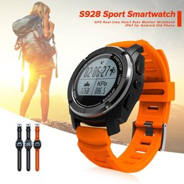 g watch smart NZ - Professional S928 Sport Smart Watch G-sensor GPS Outdoor Heart Rate Monitor Smart Wristband for Smartwatch Android IOS