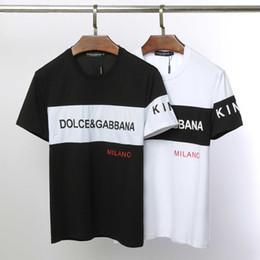 a71f6d478 Nova moda verão preto e branco T-shirt dos homens de algodão casual T-shirt  skate hip hop rua T-shirt
