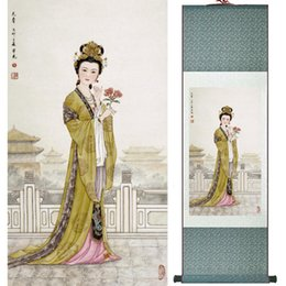 $enCountryForm.capitalKeyWord NZ - Portrait Painting Home Office Decoration Chinese Scroll Painting Women Art Painting Ltw112412