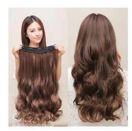 $enCountryForm.capitalKeyWord Australia - In the long hair wig wig a piece of big wave type hair piece wig lady seamless hair