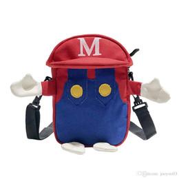 $enCountryForm.capitalKeyWord Australia - Personality Trendy Super Mario Canvas Shoulder Bag Female New Fashion Light Weight Outdoor Travel Messenger Packs Multi Color Crossbody Bags