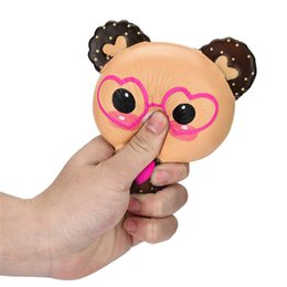 Wooden Fantasy Toys NZ - Fidget Squishy Toy Dog Bear Watermelon rabbit cat shit penguin squishies Slow Rising Soft Squeeze Cute Strap gift Stress Gag Toys