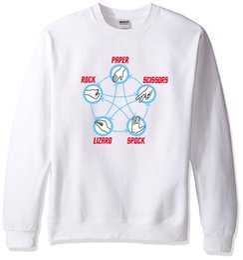 Star trek Spock online shopping - 2019 Star Trek Big Bang Theory Rock Paper Scissors Lizard Spock Adult Hoody Men s Sportswear Fashion Casual Hoodies Tracksuits