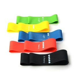 Yoga rubber online shopping - Rubber Band Workout loops Latex Yoga Gym Strength Training Athletic Bands25