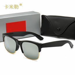 $enCountryForm.capitalKeyWord Australia - 2019 New Fashion Glass Sunglasses Personality Half-frame Sunglasses Male Star with the Same Sunglasses Manufacturers