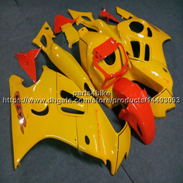 $enCountryForm.capitalKeyWord Australia - Custom+Botls ABS yellow Fairing For Honda CBR600F3 1997-1998 CBR600 F3 97 98 CBR 600F3 Body Kit motorcycle panels
