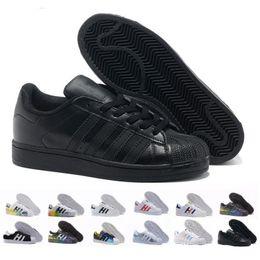 $enCountryForm.capitalKeyWord NZ - 2018 Cheap Women Superstar White Hologram Iridescent Junior Pride Sneakers Super Star Speed Trainer Men Casual leather Shoes 36-44 dd2