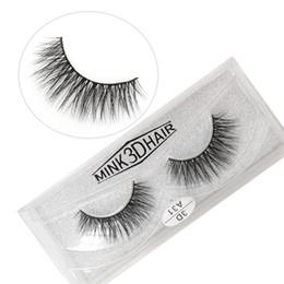 Real Mink False Eyelashes Australia - A31 3D A series 100% Real mink Eye Lashes Thick false Eyelashes a pair of false eyelashes with Crystal box