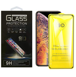 Cheap Tempered Glass Screen Protector Australia - For iPhone XS Max XR X 7 8 Plus Samsung J2 Core J4 J6 J7 Star J8 2018 9D Premium Cheap Tempered Glass Film Screen Protector with Package