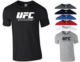 $enCountryForm.capitalKeyWord Australia - UFC Short-SShort-Sleeveveship T Shirt McGregor MMA Thai KiDesign Boxing Gym Workout Gift Men Top