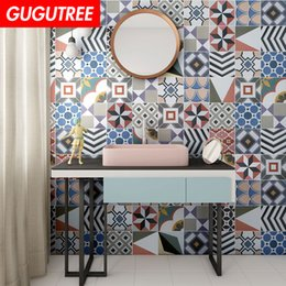 $enCountryForm.capitalKeyWord NZ - Decorate home 3D ceramic tile cartoon art wall sticker decoration Decals mural painting Removable Decor Wallpaper G-879