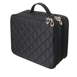 $enCountryForm.capitalKeyWord Australia - Beautician Necessary Double Layer Cosmetic Bag Box Women Beauty Vanity Make Up Tools Organizer Case Travel Toiletry Wash Storage Y190702