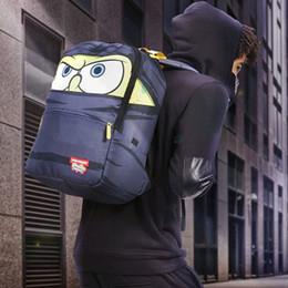 Cool Packs Australia - Ninja backpack Sprayground masked packsack Cool eye daypack Street SPG pack bag 900D nylon rucksack Spray ground day pack