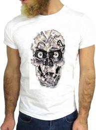 $enCountryForm.capitalKeyWord Australia - 2019 Summer Men's High Quality Tees Glass Eyes Skull Skeleton Rock Funny Cool Fashion Nerd T Shirts
