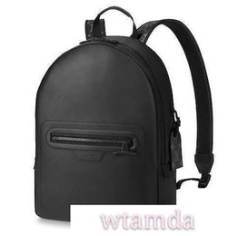 Wholesale M52170 Backpack Pm Fashion New Men Black Backpacks Fashion Shows Oxidized Leather Business Bags Handbags Totes Messenger Bags