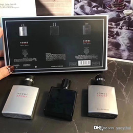 Spray Suit Australia - Fashionable men's perfume suit, three in one perfume suit, 25ml3 bottle, lasting fragrance, good quality, free mail, fast delivery.