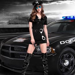 $enCountryForm.capitalKeyWord Australia - Women's Plus Size Sexy Police Officer Costume Halloween Club Party Wear 2019 New Design