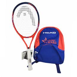 $enCountryForm.capitalKeyWord UK - Head Children Tennis Racket Paddle Raquete Backpack Self-study Sports Training Accessories Tenis String