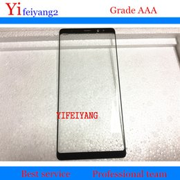 $enCountryForm.capitalKeyWord UK - YIFEIYANG OEM front Touch panel Replacement Front Outer Glass Lens For Samsung for Galaxy Note 9 N960F N960U