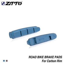 $enCountryForm.capitalKeyWord Australia - ZTTO Road Bike Brake Shoes Pads1 Pair for CARBON RIMS Dura Ace Ultegra 105 Lightweight Composite materials braking pad