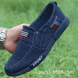 $enCountryForm.capitalKeyWord Australia - Canvas Men Casual Shoes Black Blue Grey Solid Breathable Lace Up Sneakers Men Spring Summer Autumn Shoes