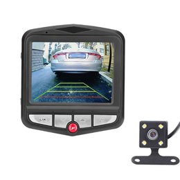 Wholesale Car Styling quot HD P Dual Lens Rearview Car DVR Camera Video Recorder Dash G Sensor Automobiles Degree car accessories