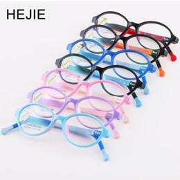 3b1e4c1c9a HEJIE Kids Safe Silicone Clear Lens marcos de gafas ópticas para niños  pequeños niños niñas 2-4 años de edad tamaño 43-15-128mm 530