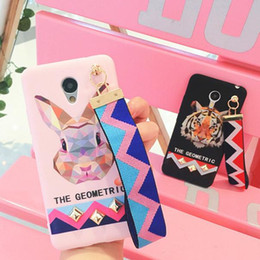 Pink Wrist Strap Australia - Luxury Europe Animal Tiger Rabbit Stud Rivet Wrist Strap Case for IPhone X XS 8 7 Case for IPhone7 6 6S PLus Soft TPU Cover Pink 1pc