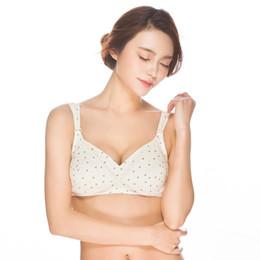 $enCountryForm.capitalKeyWord NZ - Cotton front button breastfeeding bra without steel ring large size wide shoulder pregnancy sleep bra