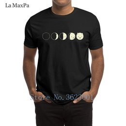 blue moon t shirts Canada - Designing Slim Men T Shirt Cat Moon Men's T-Shirt Slim Fit Summer Style Mens Tshirt Authentic Plus Size Tee Shirt Top Quality
