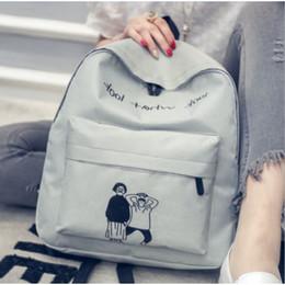 $enCountryForm.capitalKeyWord Australia - Simple design Look What Look Korea style women backpack fashionable girls leisure bag school student book bag teenager