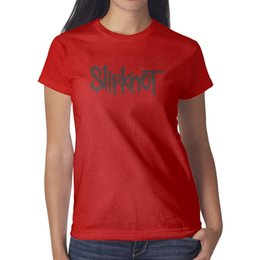 Metal Band Tees Australia - Heavy Metal Slipknot Band red t shirt,shirts,t shirts,tee shirts printing funny designer band athletic t shirt