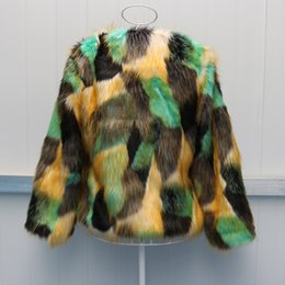 $enCountryForm.capitalKeyWord NZ - Mixed Color Womens Short Section Casual Winter And Autumn Jackets Plus Size Leisure Sexy Fake Fur Coats Faux Fur Clothes J2519