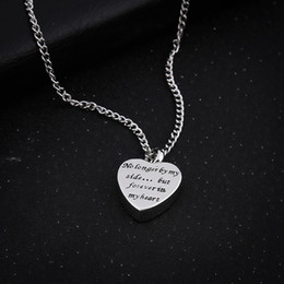 Memorial Pendants For Ashes Australia - Open Love Heart Pendant Alloy Memorial Ash Keepsake Urn Necklace For Dad Funeral Urn Casket Cremation Urn Necklaces Jewelry