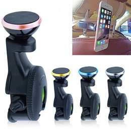 Wholesale Car rear pillow strong magnet car bracket rear seat Cell Phone Mounts ipad tablet universal multi purpose rear seat mobile phone bracket