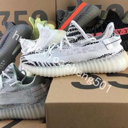 $enCountryForm.capitalKeyWord Australia - Bubble Wrap 2019 V2 Kanye West 2019 True Form Top Quality Running Shoes Butter Sesame Zebra Cream White Black Bred Orange Stripes Sneakers