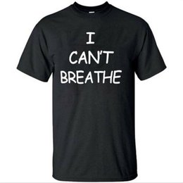 white tee shirts t i Canada - I Cant Breathe T-Shirt Protest Tee Black Lives Matter Size S-5XL for Man Women T-shirts Tee Top