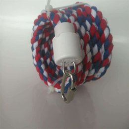 Wholesale Parrot To Climb Sling Belt Small Bell Cotton Rope Bird Toys Small And Medium Sized Cord Manufactor Direct Selling 12 8jm p1