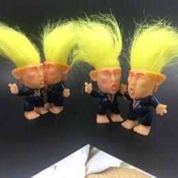 $enCountryForm.capitalKeyWord Australia - Donald Trump Action Figures Doll funko pop Kids toy Girls Surprise Gift Christmas zx0021