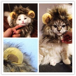 $enCountryForm.capitalKeyWord Australia - Funny Pet Puppy Dog Cat Lion Mane Wig Cap Hat Autumn Winter Halloween Christmas Dogs Cats Animal Cosplay Fancy Dress Costume